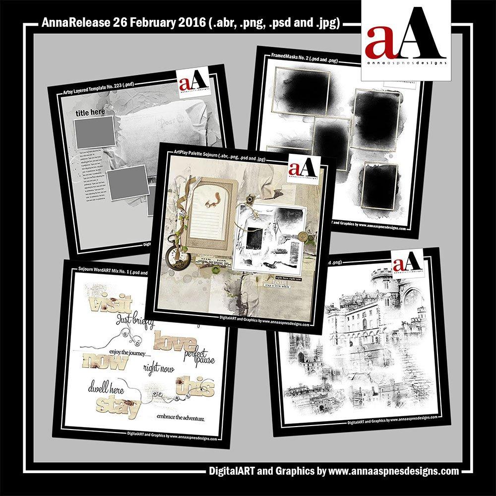New Artsy Digital Designs Sojourn AnnaRelease Sojourn