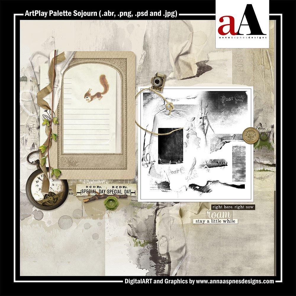 New Artsy Digital Designs Sojourn ArtPlay Palette Sojourn