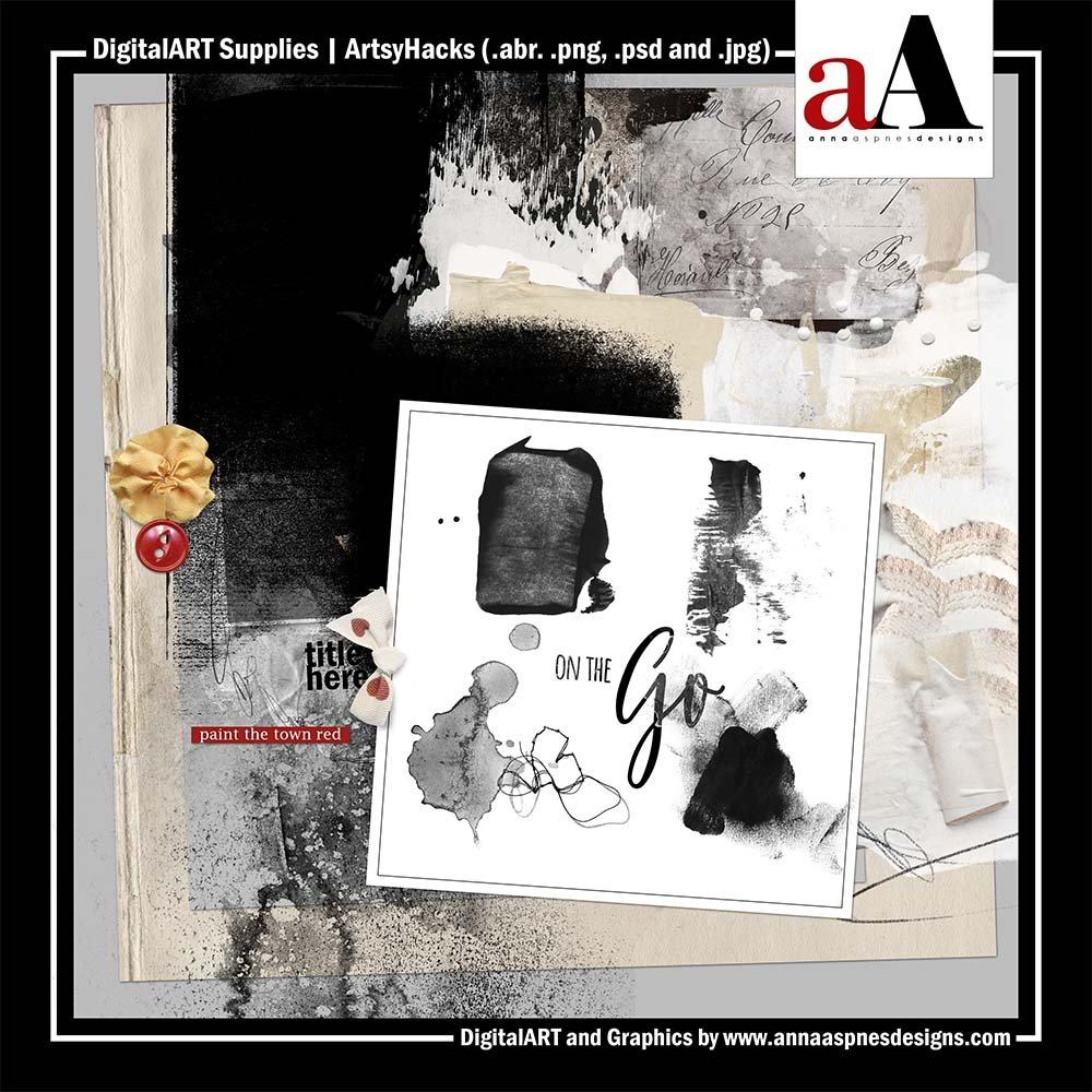 Learn Digital Artistry Hacks Anna Aspnes Scrapaneers LIVE 2