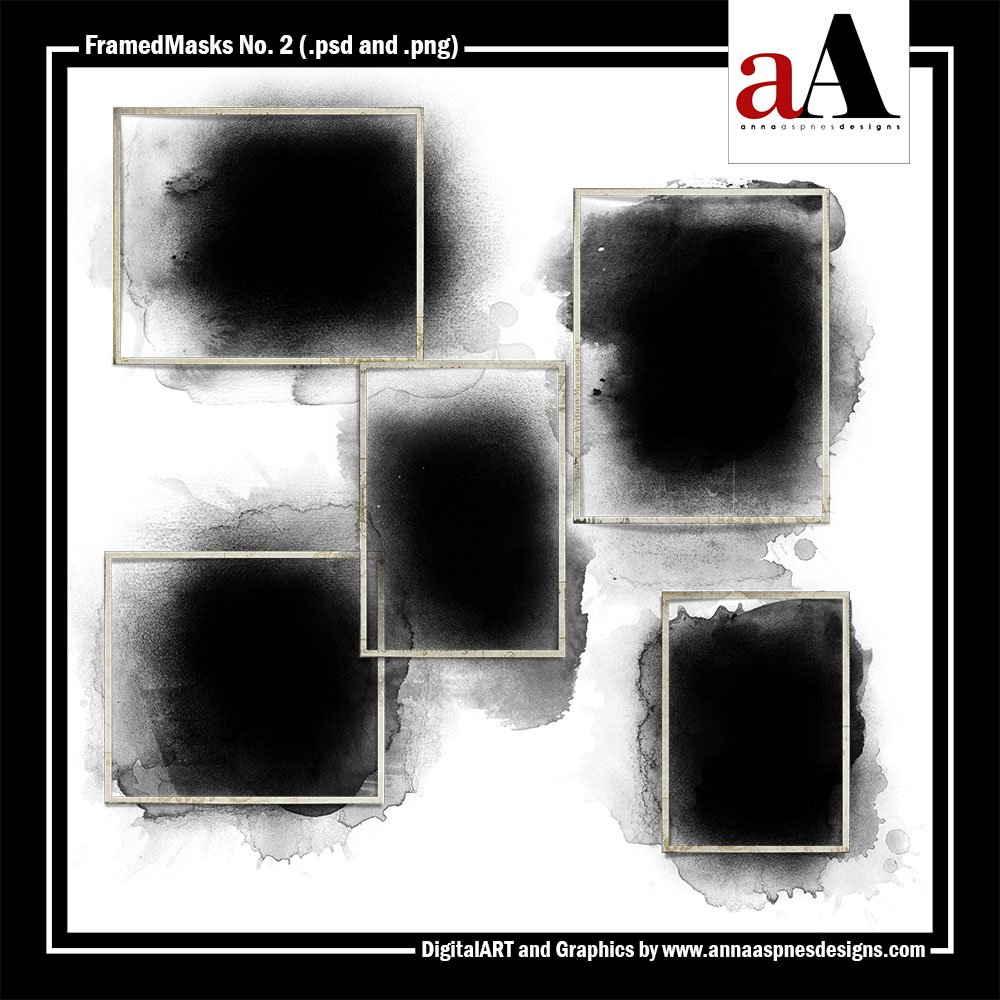 New Artsy Digital Designs Sojourn FramedMasks Sojourn