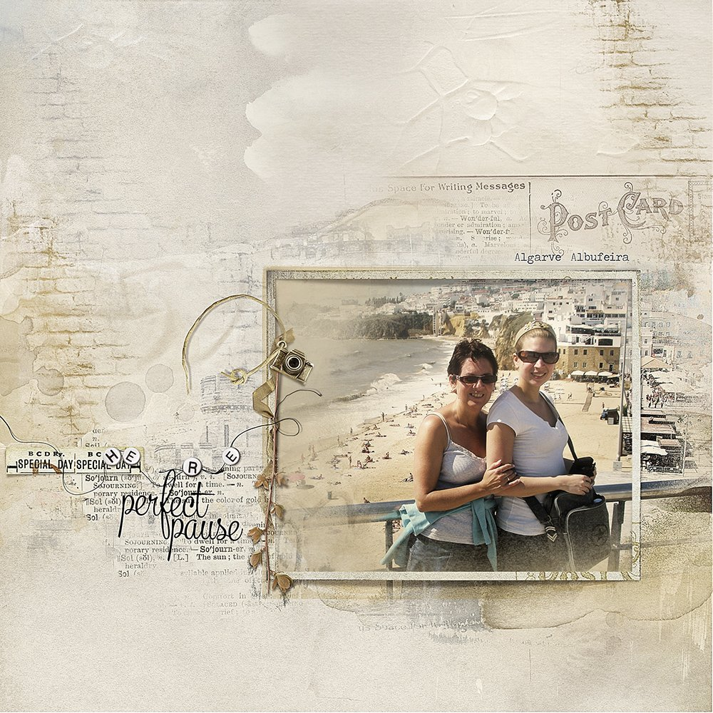 Digital Scrapbooking Inspiration Artsy Digital Designs Sojourn Anna Aspnes Designs