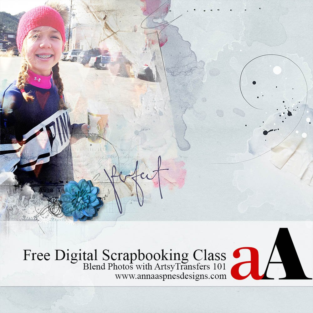 Free Digital Scrapbooking Class