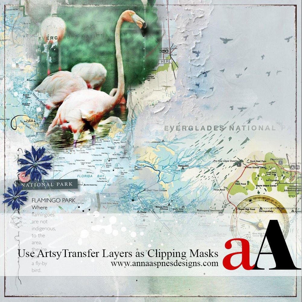 ArtsyTransfers Clipping Mask Tutorial