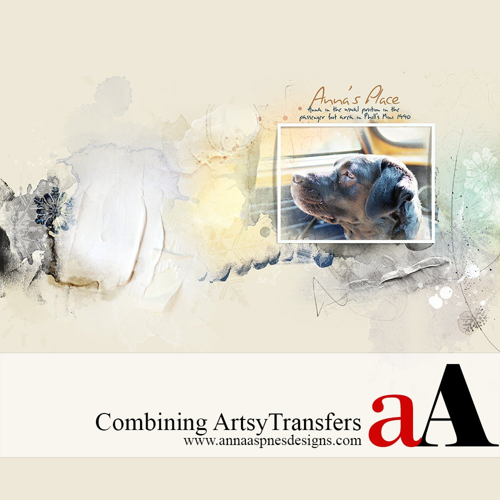 Blending ArtsyTransfers in Adobe Photoshop (Video Tutorial) Anna Aspnes Designs