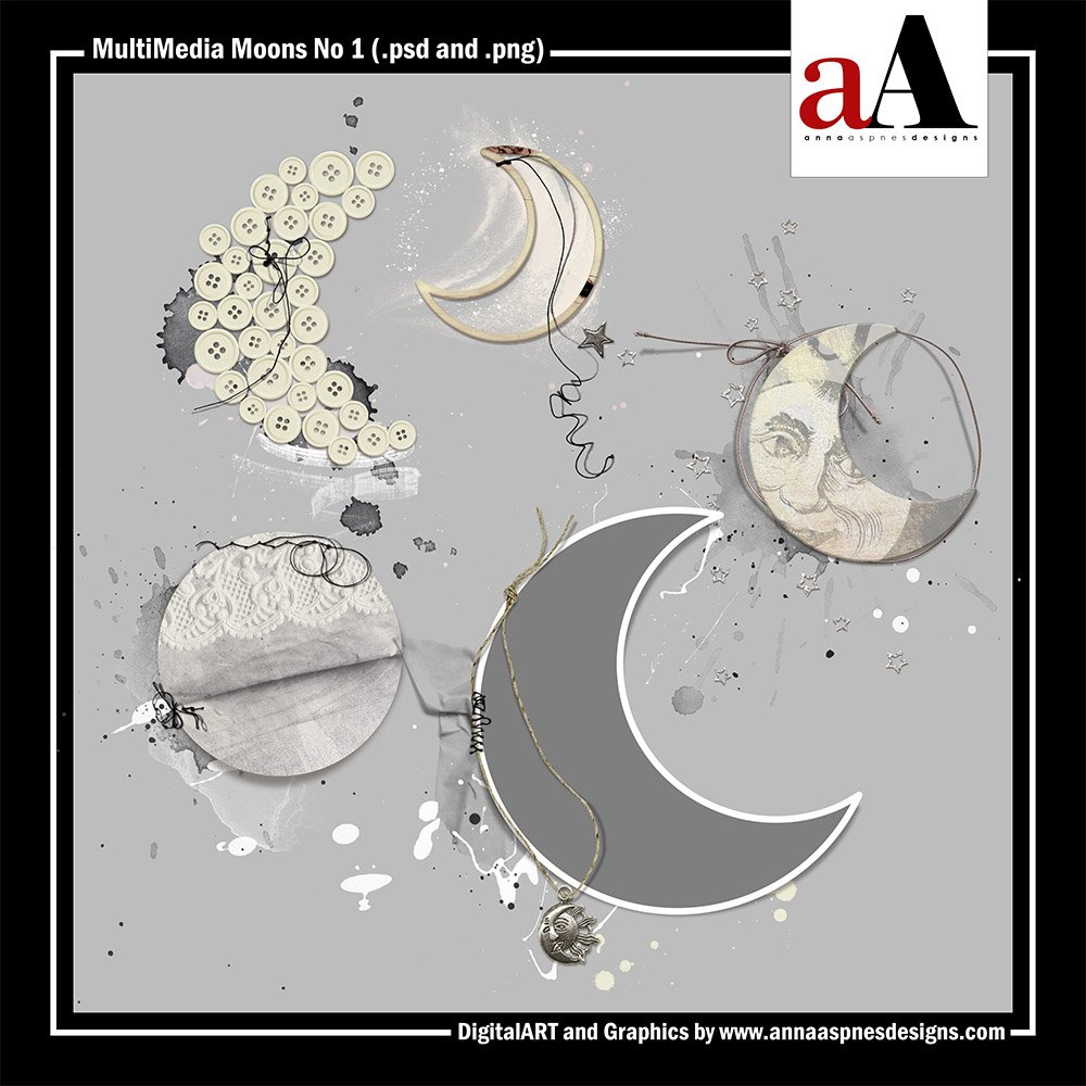 New Artsy Digital Designs To The Moon
