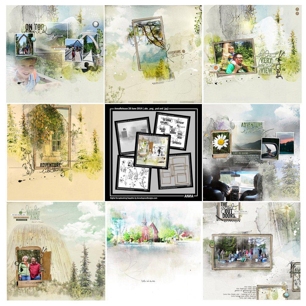 Wilderness Artsy Digital Designs Sale