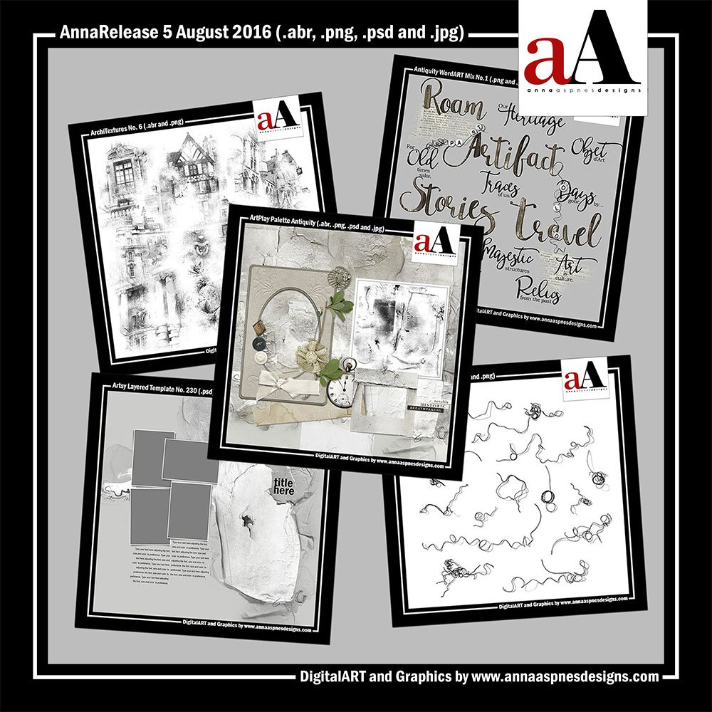 New Artsy Digital Designs Antiquity