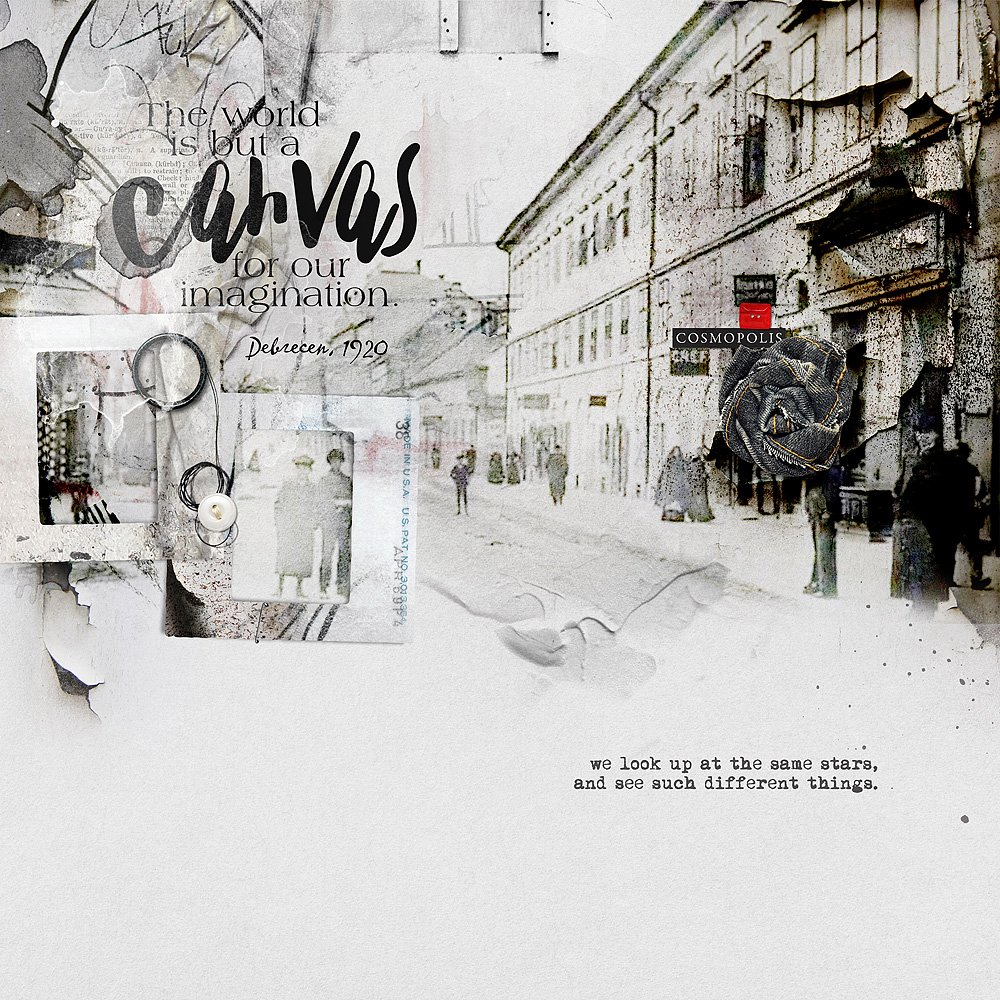 Digital Designs Inspiration Cosmopolis