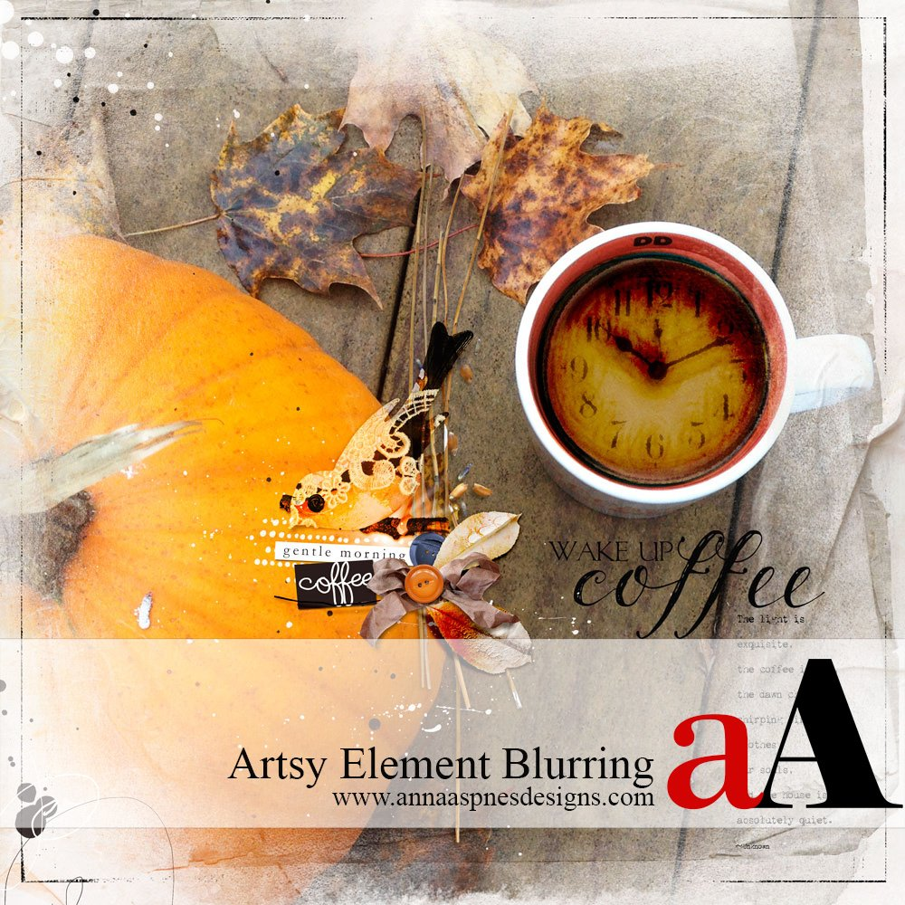 Blur Artsy Elements Tutorial + Coupon