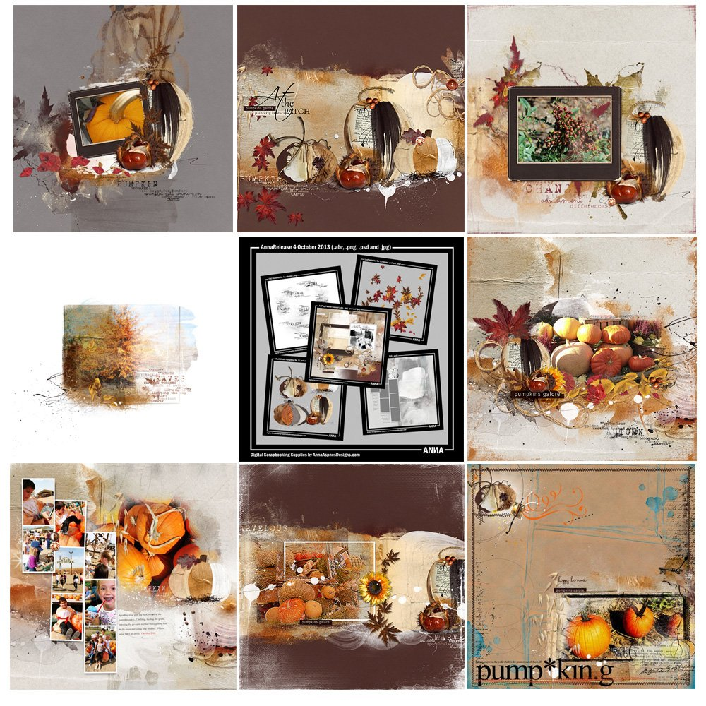 Harvest Artsy Digital Designs Sale