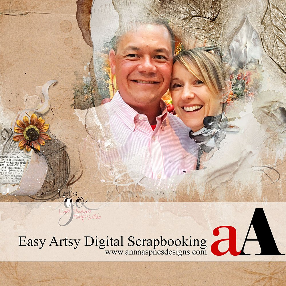 Easy Artsy Digital Scrapbooking