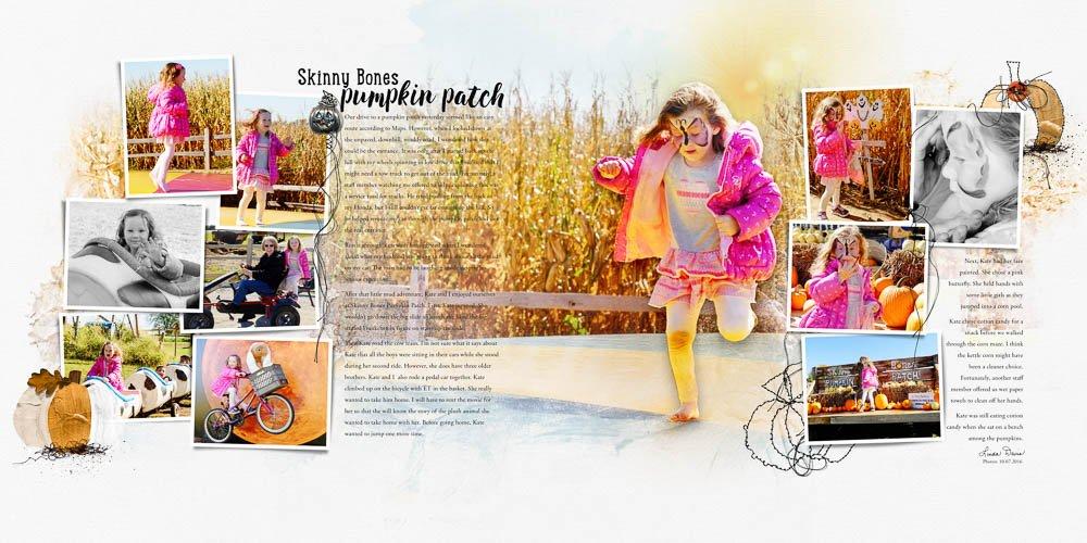 Digital Designs Inspiration Autumn Template Album