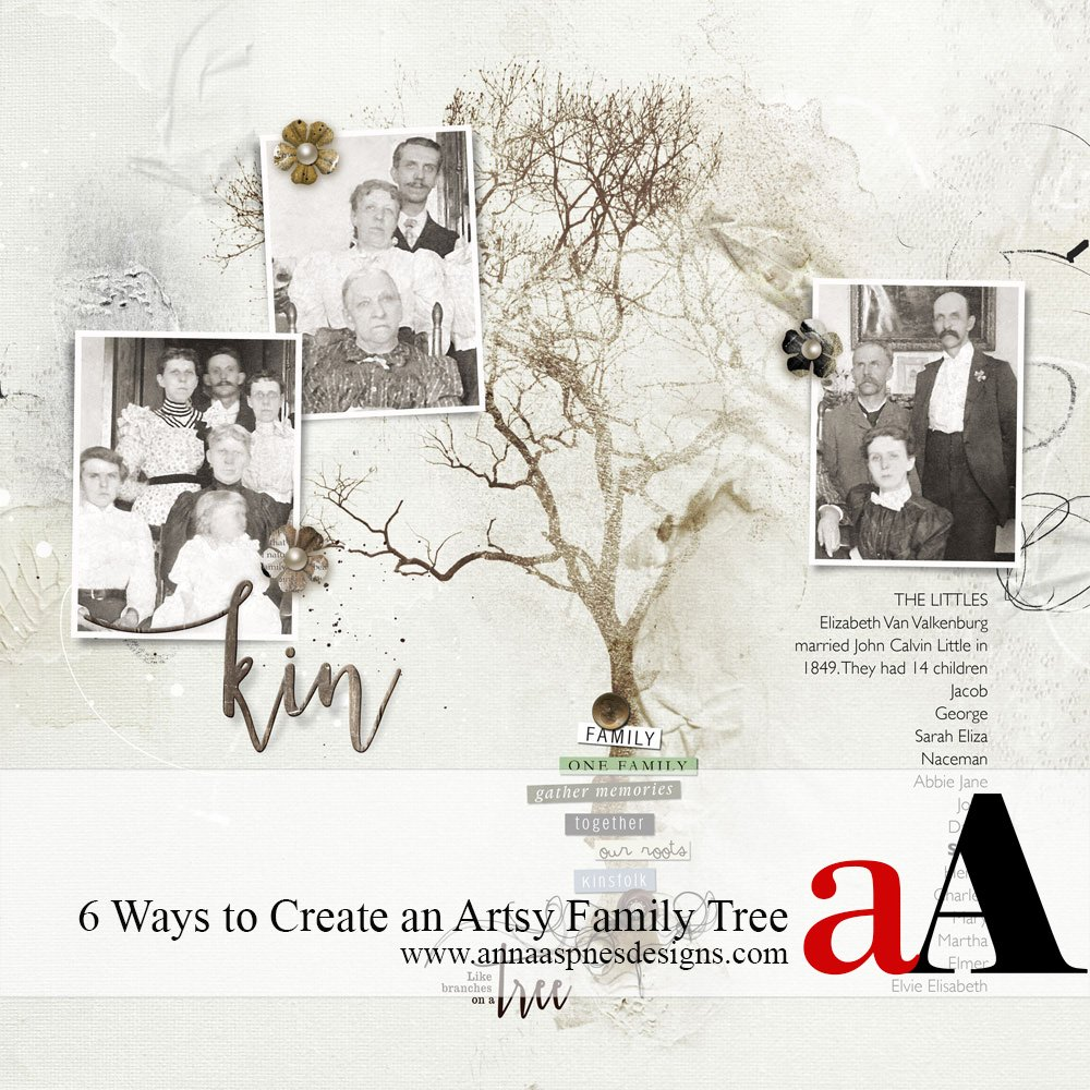 Artsy Family Tree