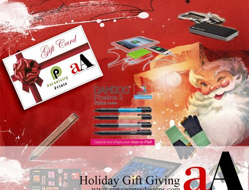 Holiday Gifts for Artsy Digital Scrapbooking Part 2