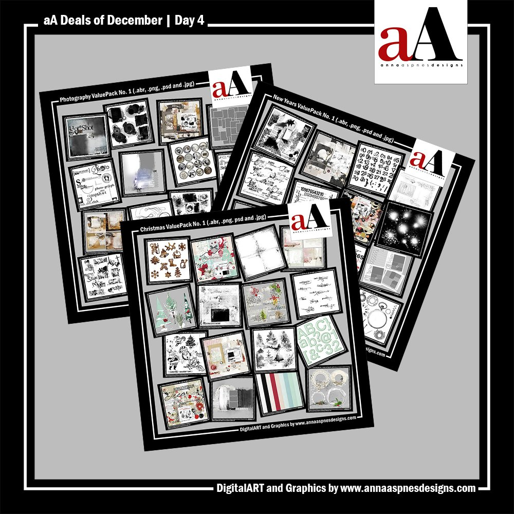 aA Deals of December 2016 Day 4
