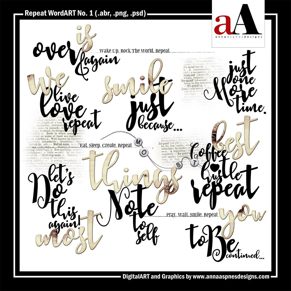 New Artsy Digital Designs Anaphora