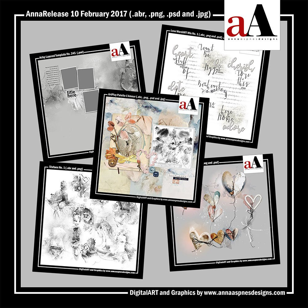 New Artsy Digital Designs L'Amour