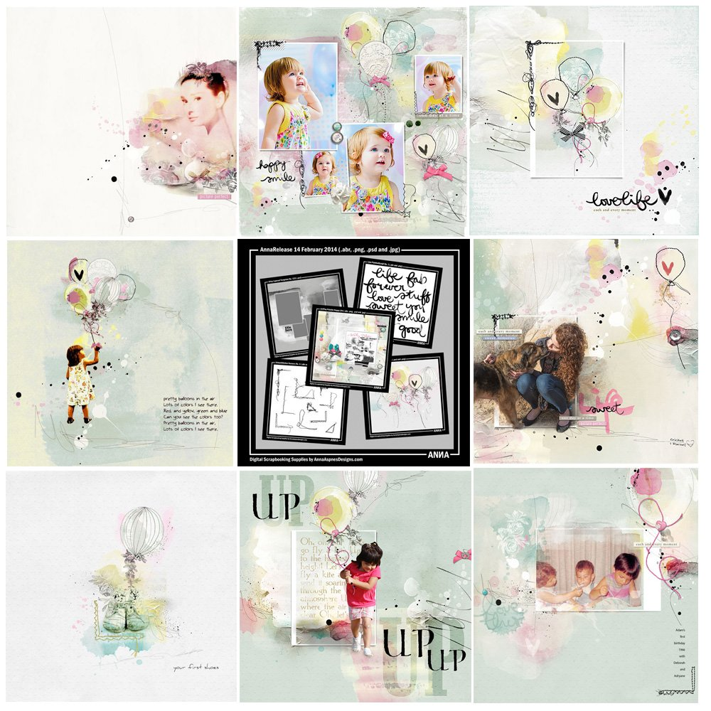 Happy Life Artsy Digital Designs Sale