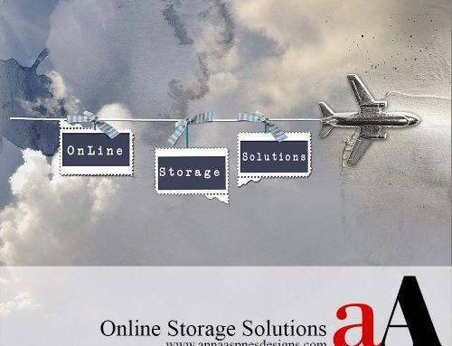 Online Storage Solutions for Digital Scrapbooking