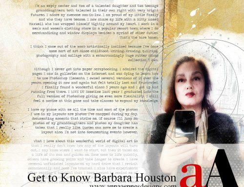 aA Creative Team Member Barbara Houston