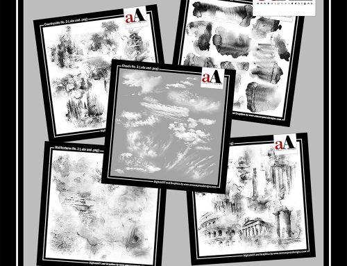 New Artsy Digital Design BrushSets