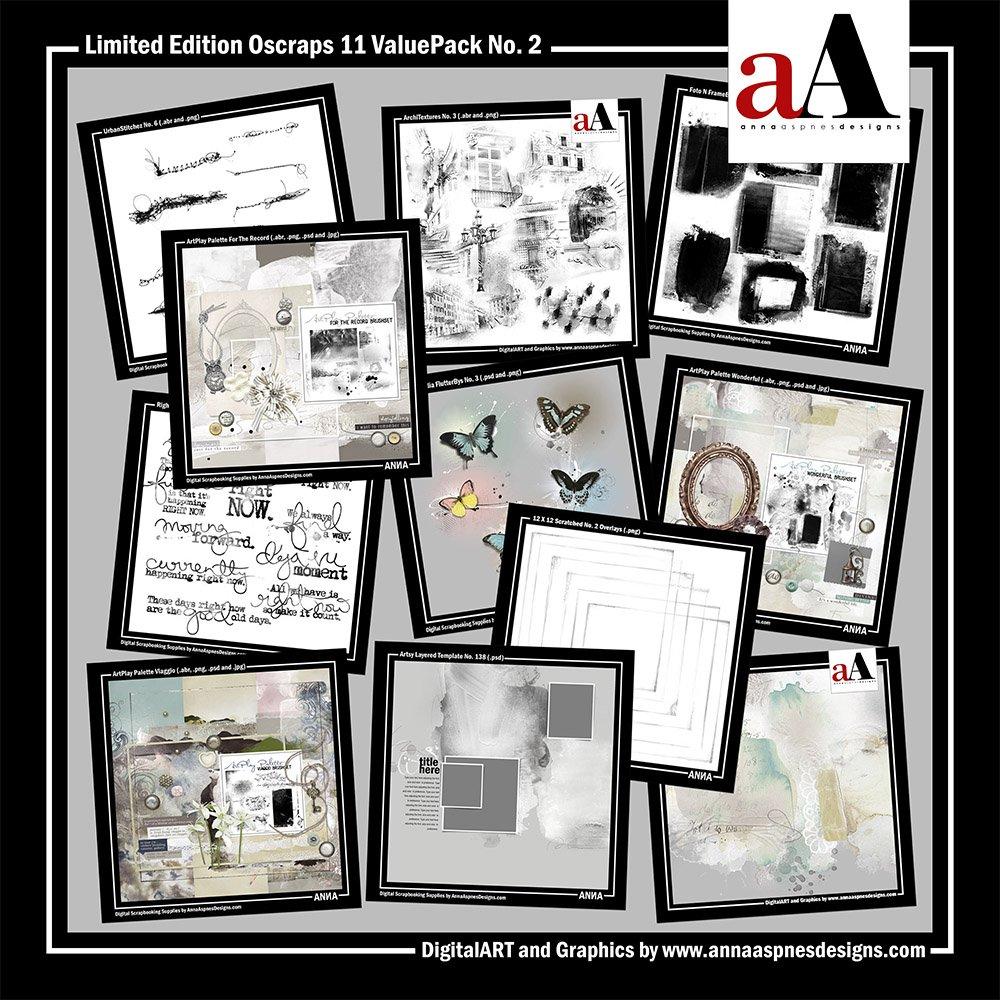 Oscraps 11th Birthday Digital Designs Sale