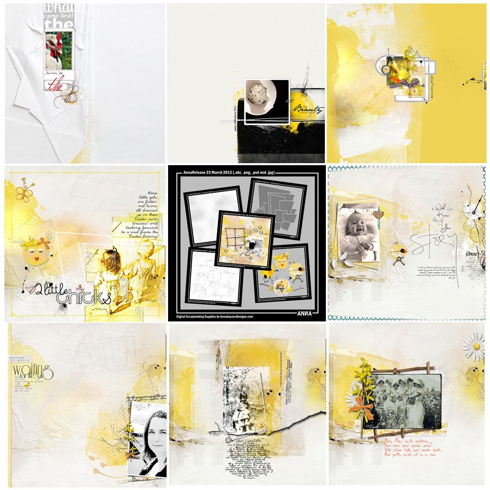 Easter Chicks Artsy Digital Designs Sale