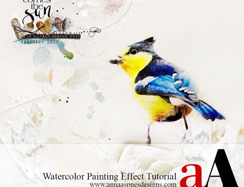 Watercolor Painting Effect Tutorial