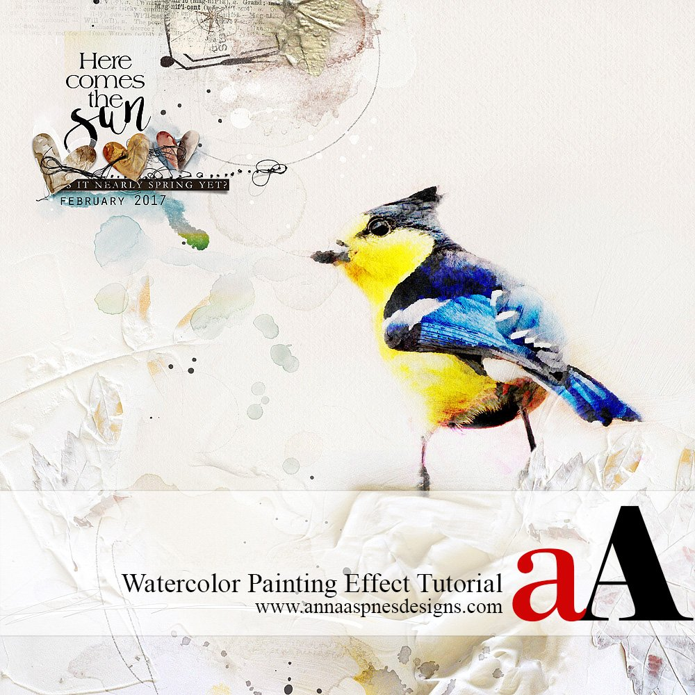 Watercolor Painting Effect Tutorial