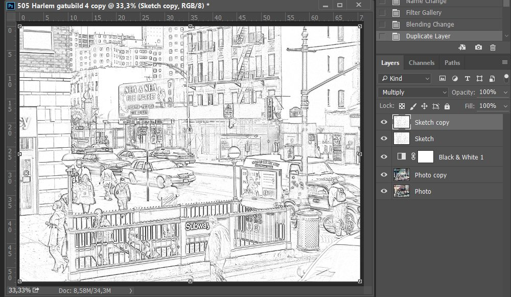 Create an Artsy Sketch Effect