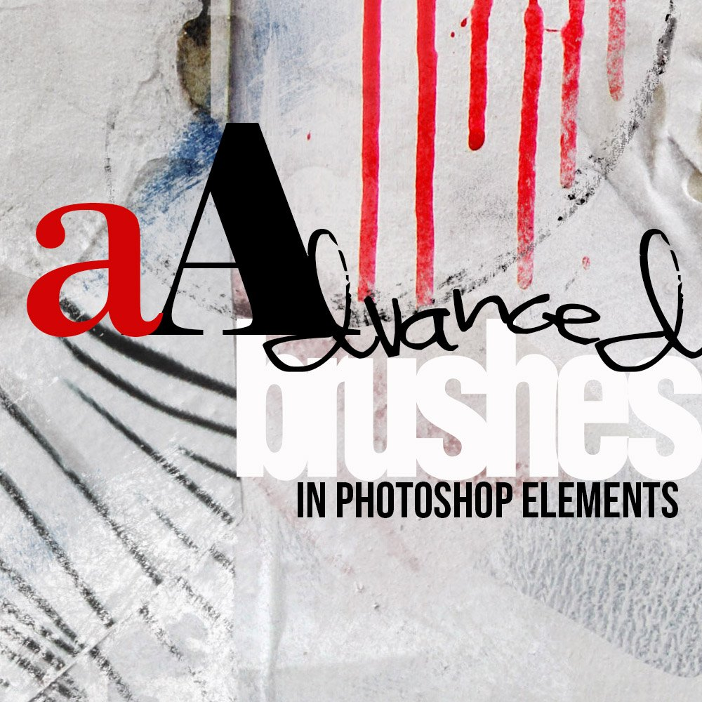 Advanced Brushes in Photoshop Elements