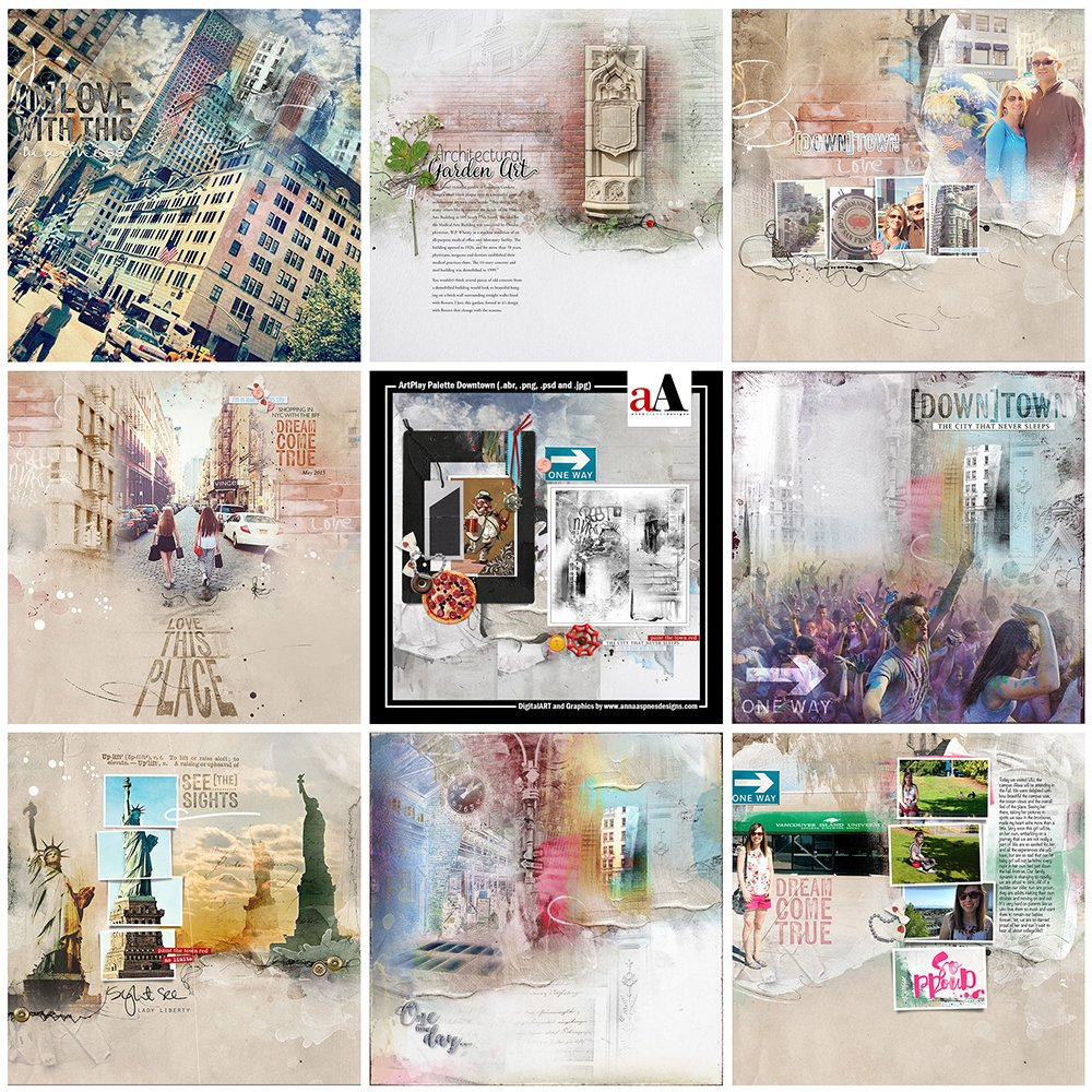 ArtsyInspiration | AnnaRelease *Downtown*