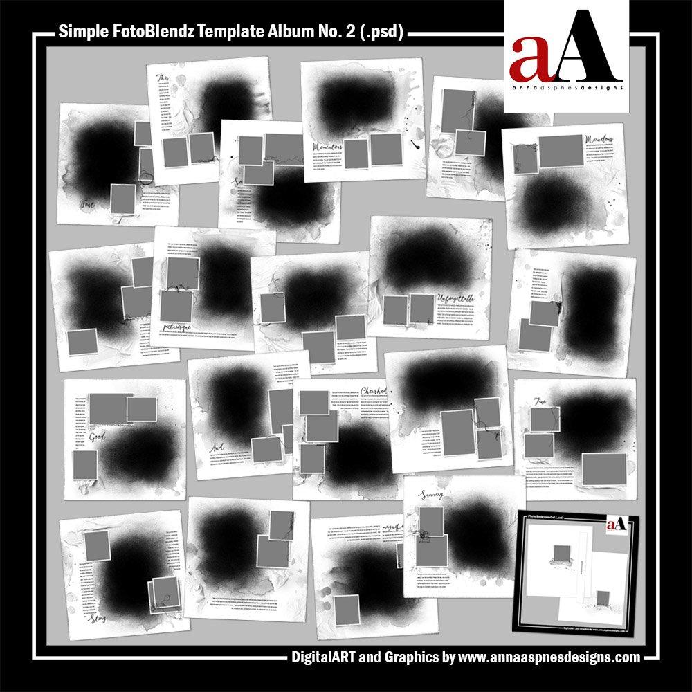 New FotoBlendz Template Album