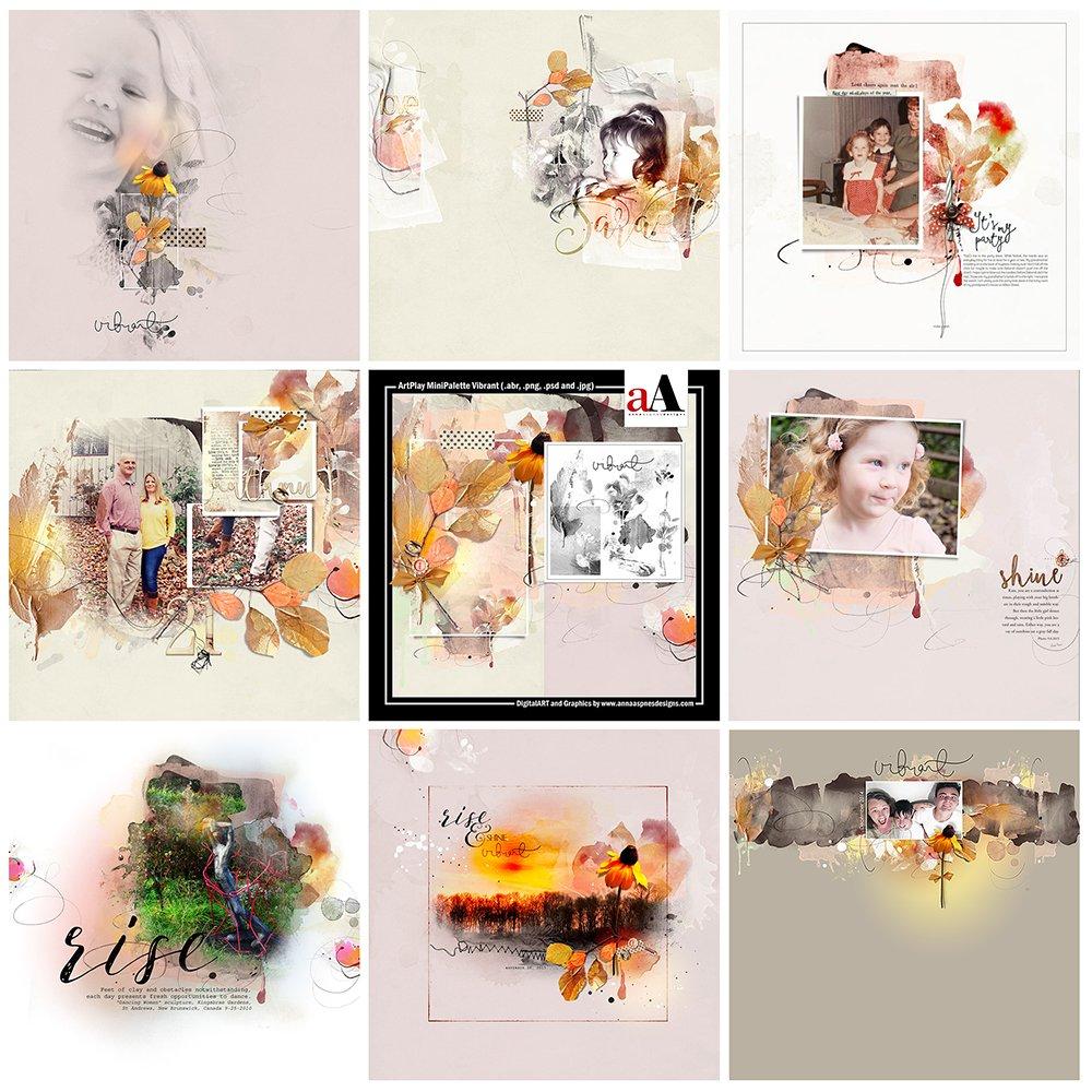 ArtsyInspiration | ArtPlay MiniPalette Vibrant