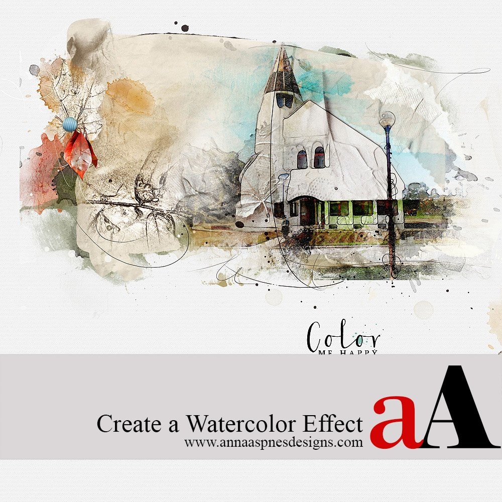Tutorial | Create a Watercolor Effect