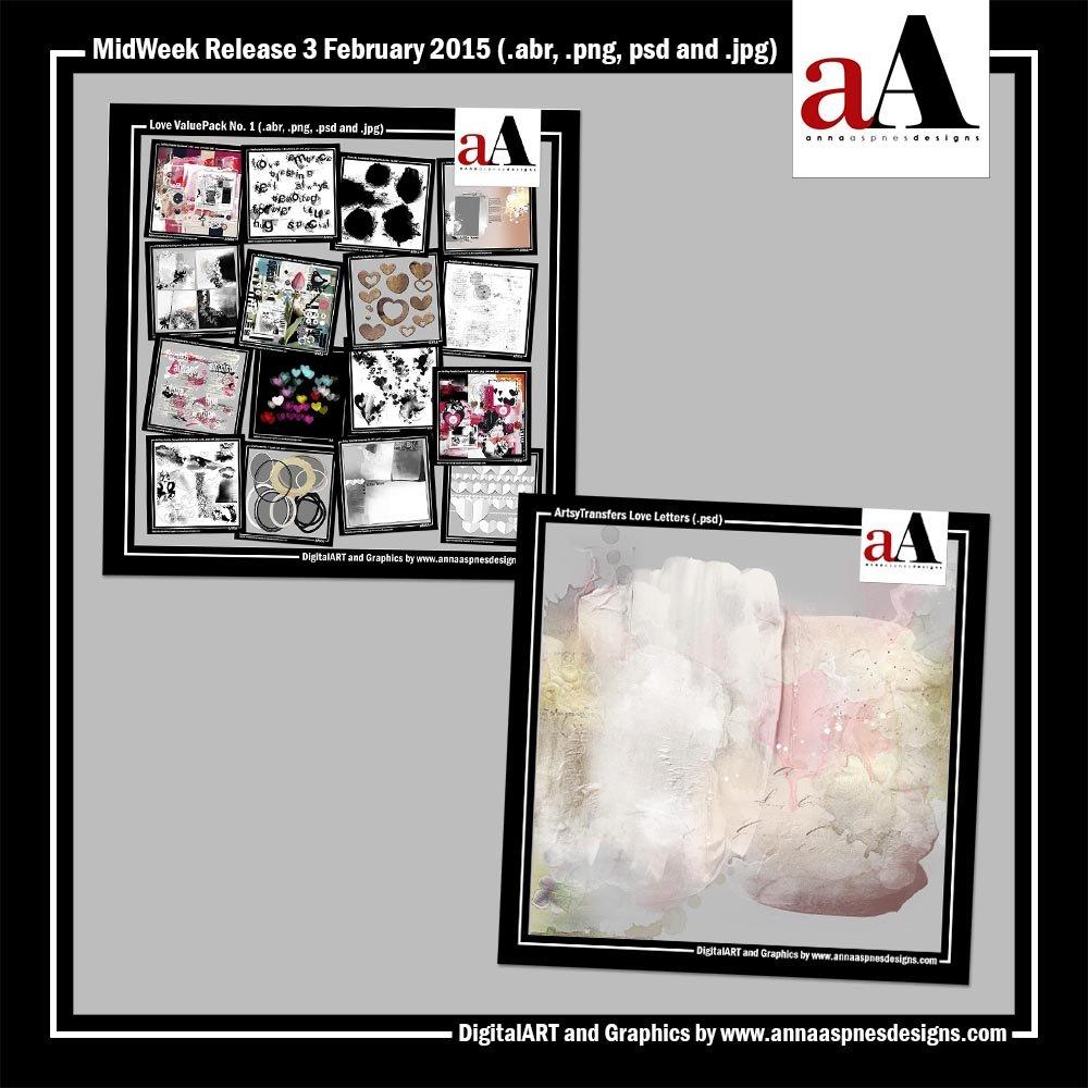 New ArtsyTransfers + Love ValuePack