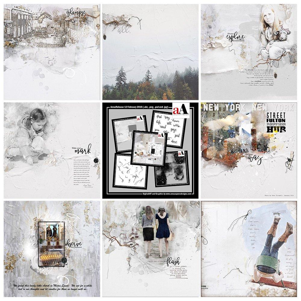 ArtsyInspiration |  AnnaRelease *Neige*