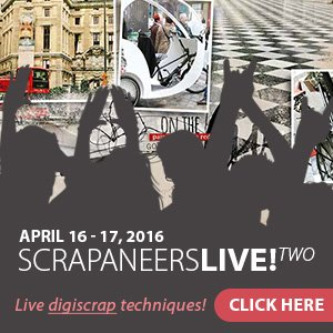 Learn Digital Artistry LIVE Anna Aspnes Scrapaneers LIVE 2