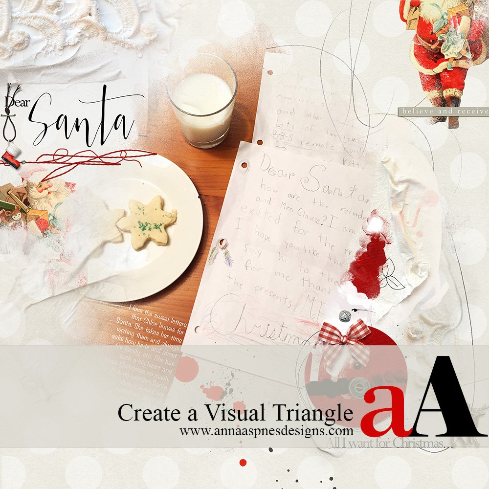 Tutorial |  Visual Triangle Design Principle with Elements