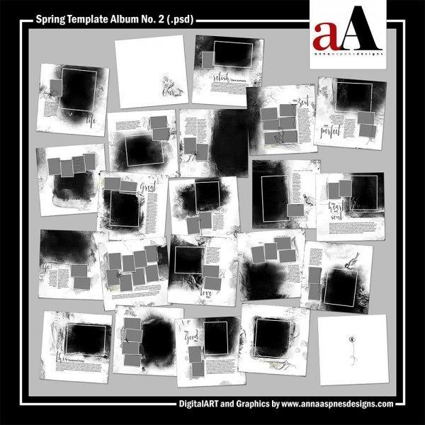 New Artsy Template Album + Important Updates