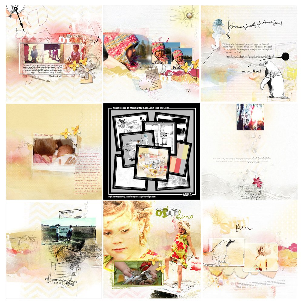 Sun Fun Artsy Digital Designs Sale