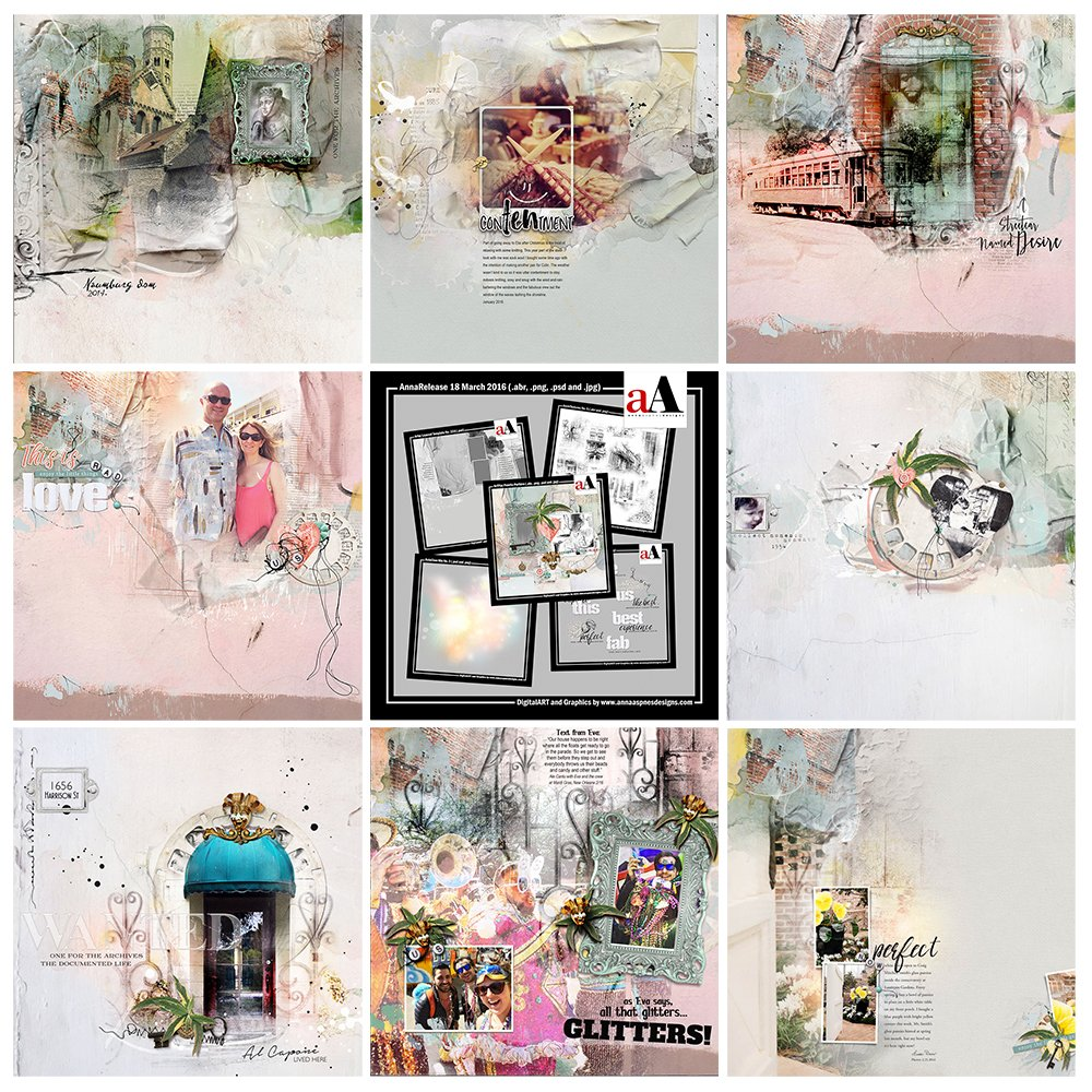 Digital Scrapbooking Designs Inspiration Portière