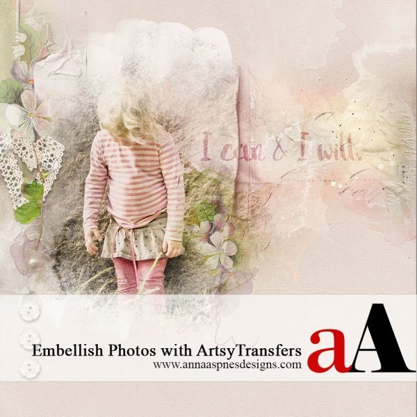Embellish Photos with ArtsyTransfers Tutorial