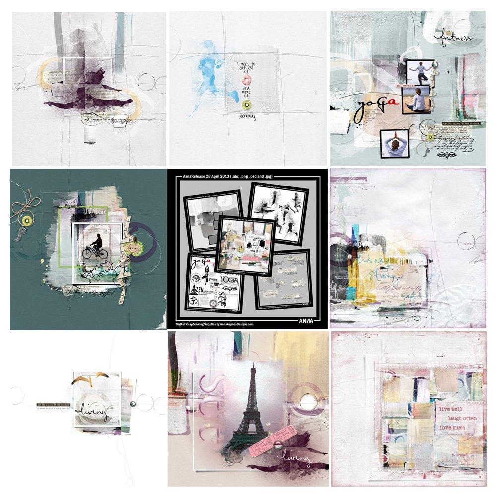 Living Well Artsy Digital Designs Sale