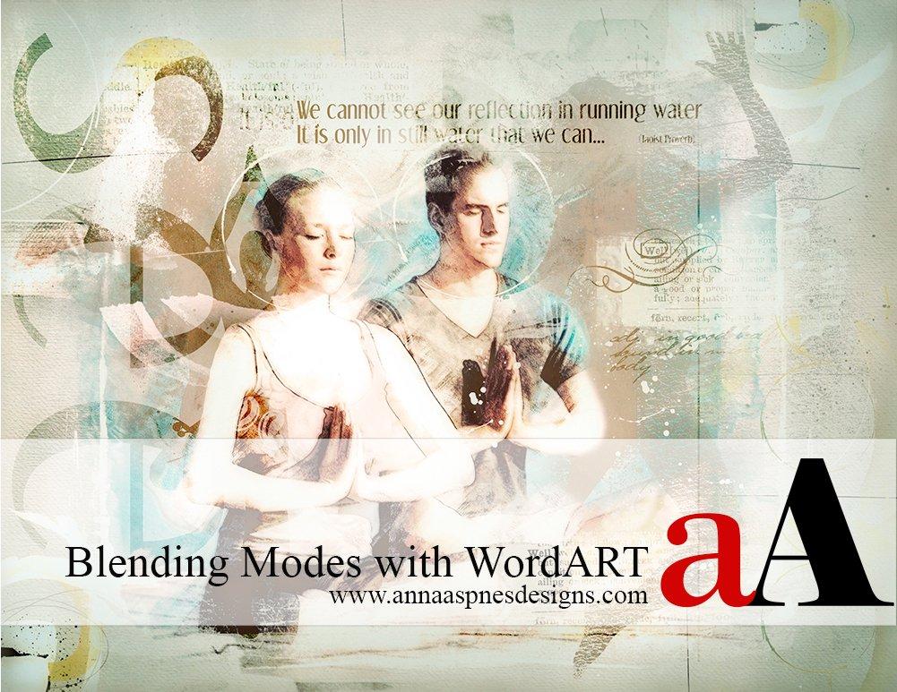 Blending Modes with WordART