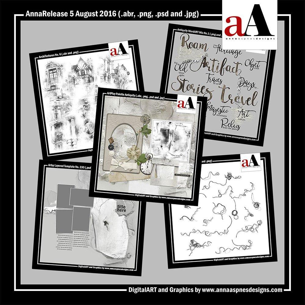 New Artsy Digital Designs Antiquity