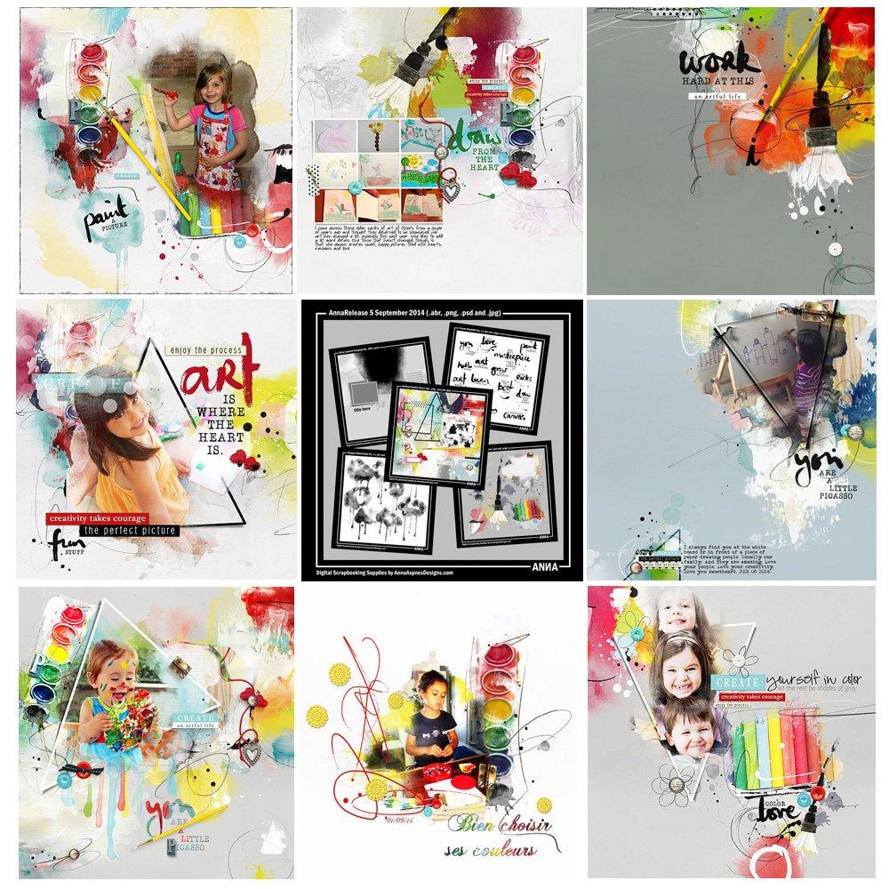 Artsy Digital Designs Sale AnnaRelease Artsy