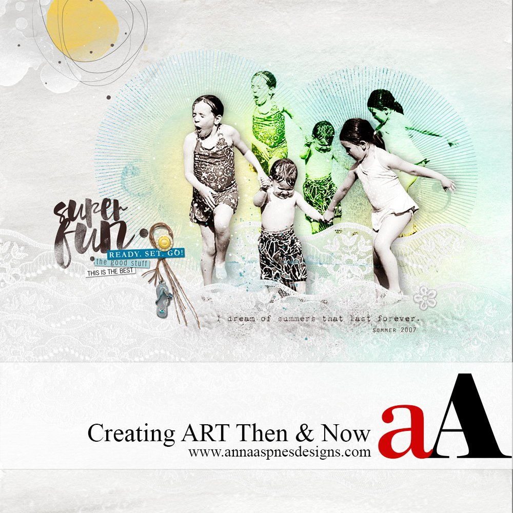 Then and Now Creating ART