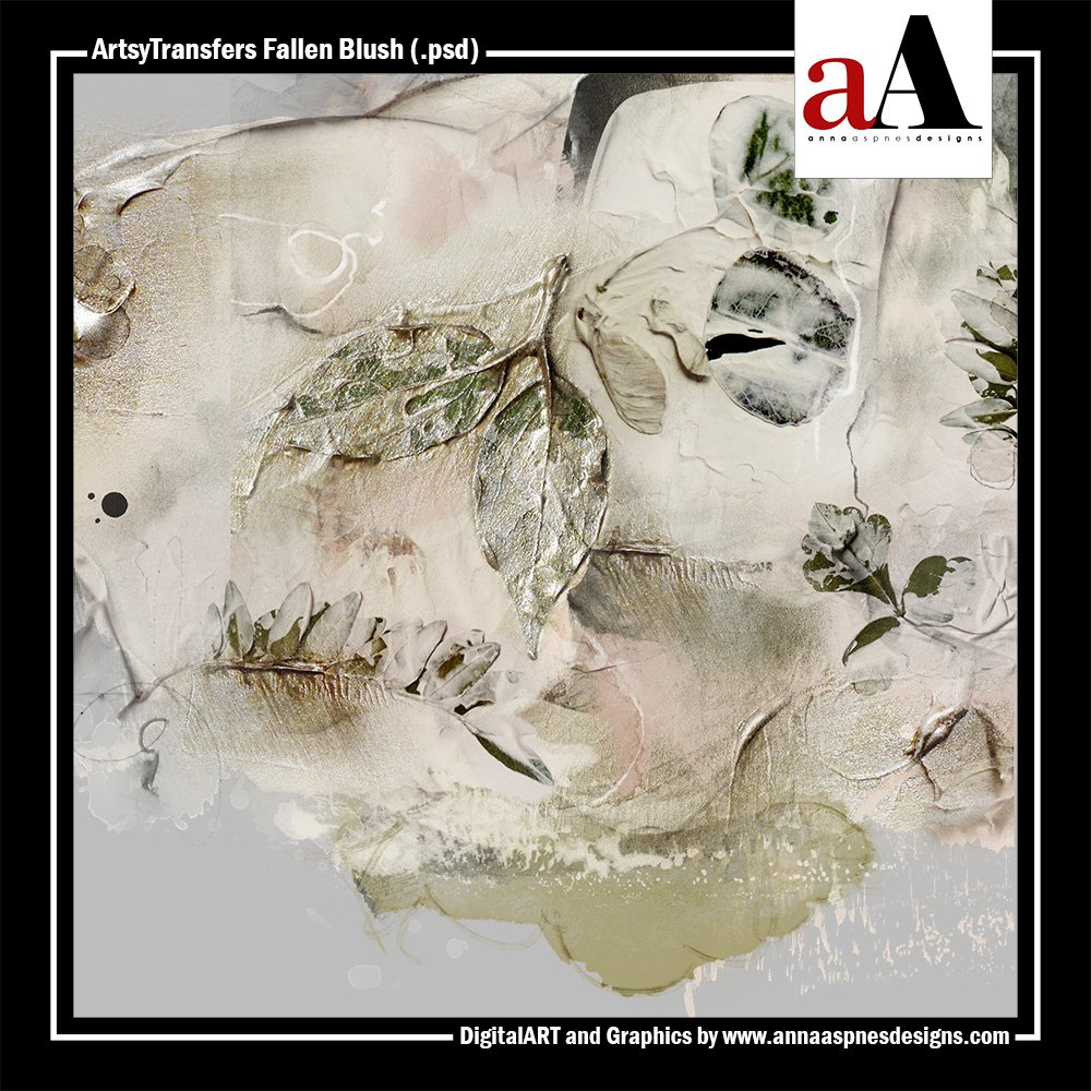 New ArtsyTransfers Fallen Blush