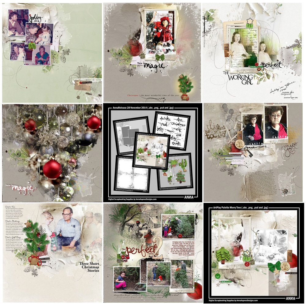 Merry Tree Artsy Digital Designs Sale